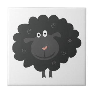 Black Sheep Ceramic Tile