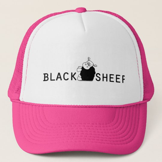 af894acb8fef3 Black Sheep Trucker Hat