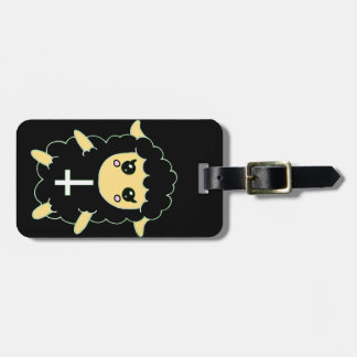 Black Sheep with St. Peter's Cross Luggage Tag