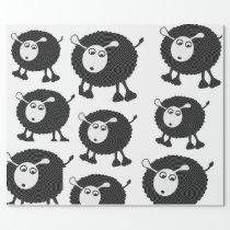 Black Sheep Wrapping Paper