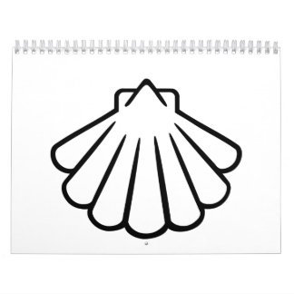 Black shell calendar