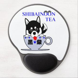 Black Shiba Inu Gel Mouse Pad