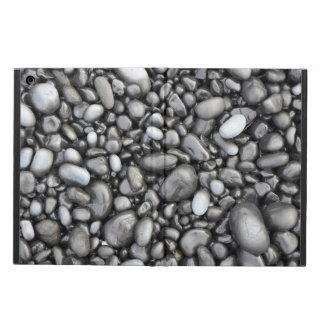 Black shiny pebbles pattern ipad aircase iPad air cases