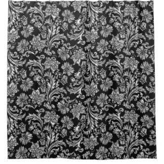 Vintage Damask Shower Curtains | Zazzle