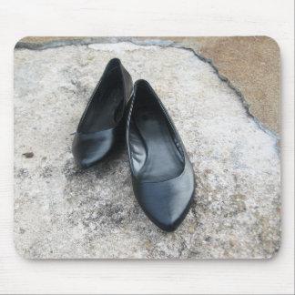 Black Shoes Mouse Pad
