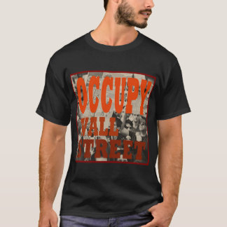 Black, Short-Sleeved, Occupy Wall Street T-Shirt
