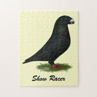 Black Show Racer Puzzles