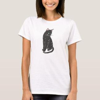Black Siamese Cat T-Shirt
