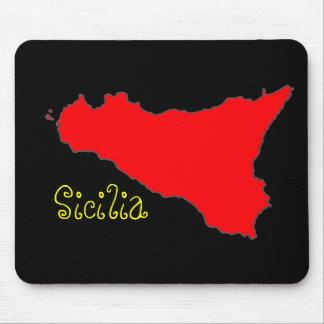 Black Sicilia Mousepad