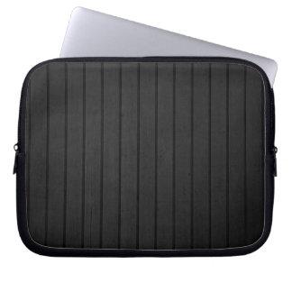 Black Siding Computer Sleeve