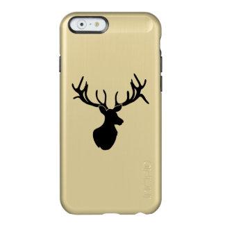 Black Silhouette Antlered Buck iPhone Case Incipio Feather® Shine iPhone 6 Case