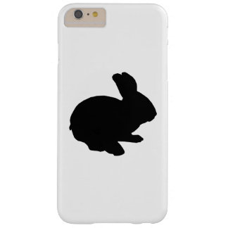 Black Silhouette Easter Bunny iPhone 6 Case