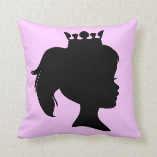 Black Silhouette Princess T-shirts and Gifts Pillow