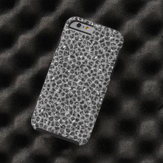 Black/Silver Cheetah Print IPhone 6 Case