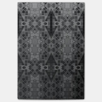 Black&Silver Crazy Abstract Post-it® Notes