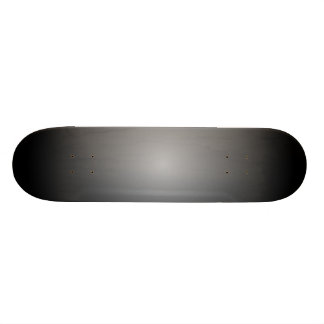Black & Silver Radial Fades Skateboards