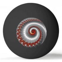 BLACK ~ Silver Shell ~ Fractal Design ~ Ping Pong Ball