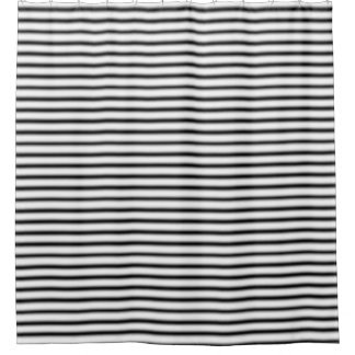 Black And Silver Shower Curtains | Zazzle