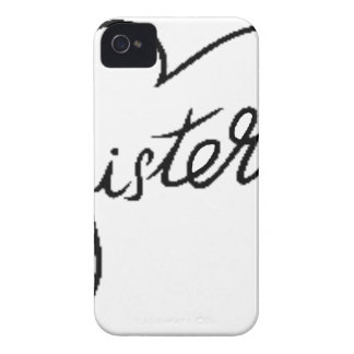 black sisters iPhone 4 cover