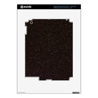 Black Skateboard Griptape iPad 3 Decals