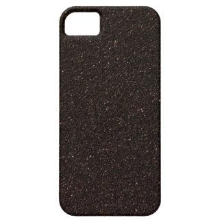 Black Skateboard Griptape iPhone SE/5/5s Case