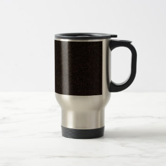 Black Skateboard Griptape Travel Mug