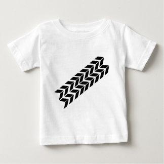 black skidmark icon baby T-Shirt