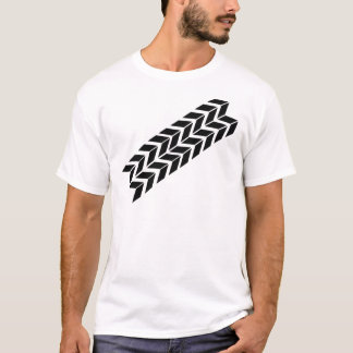 black skidmark icon T-Shirt