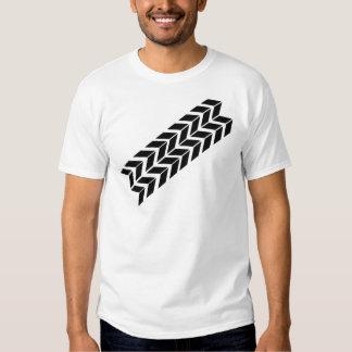 black skidmark icon tee shirt