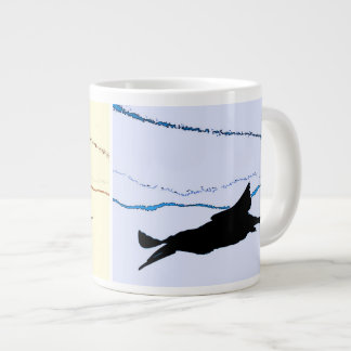 Black Skimmer Bird Jumbo Mug