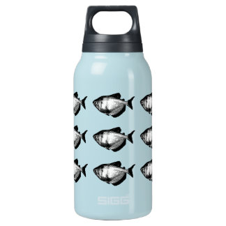 Black Skirt Tetra Fish 10 Oz Insulated SIGG Thermos Water Bottle