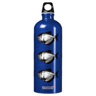 Black Skirt Tetra Fish Water Bottle