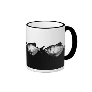 Black Skirt Tetras Ringer Mug
