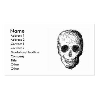 Black Skull. Business Card
