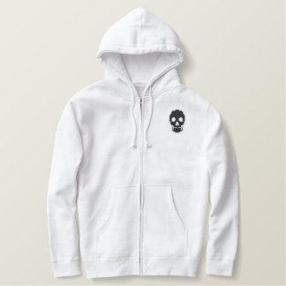 Black Skull Hoodie