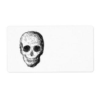 Black Skull. Label