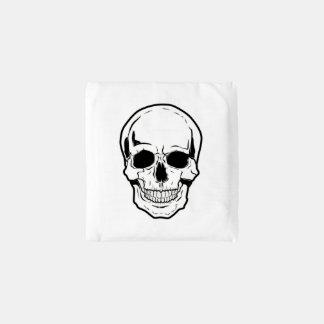 Black Skull Laughter Reusable Bag