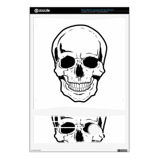 Black Skull Laughter Xbox 360 S Skin