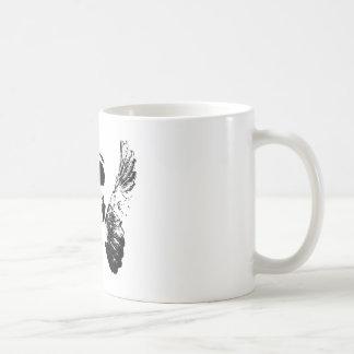 Black Skull Classic White Coffee Mug