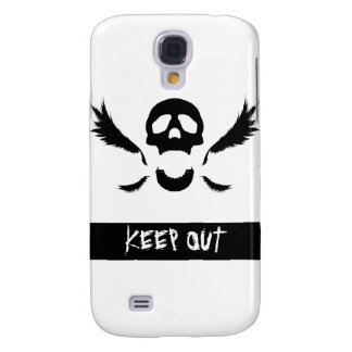 Black Skull Samsung Galaxy S4 Cover