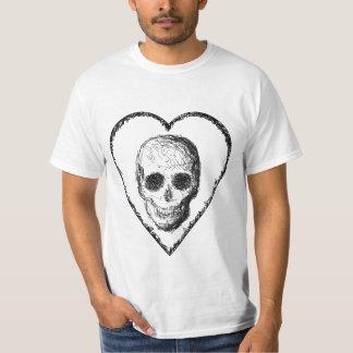 Black Skull. Tee Shirt