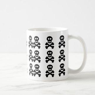 Black Skulls, Classic White Coffee Mug