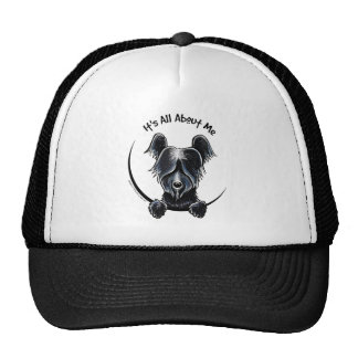 Black Skye Terrier IAAM Trucker Hat