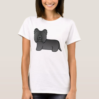 Black Skye Terrier T-Shirt