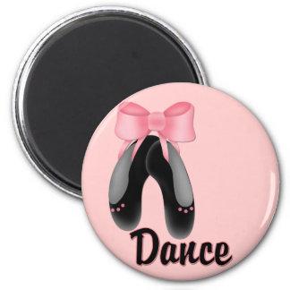 Black Slippers - Dance Magnet