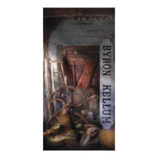 Black Smith - Byron Kellum Blacksmith Photo Card