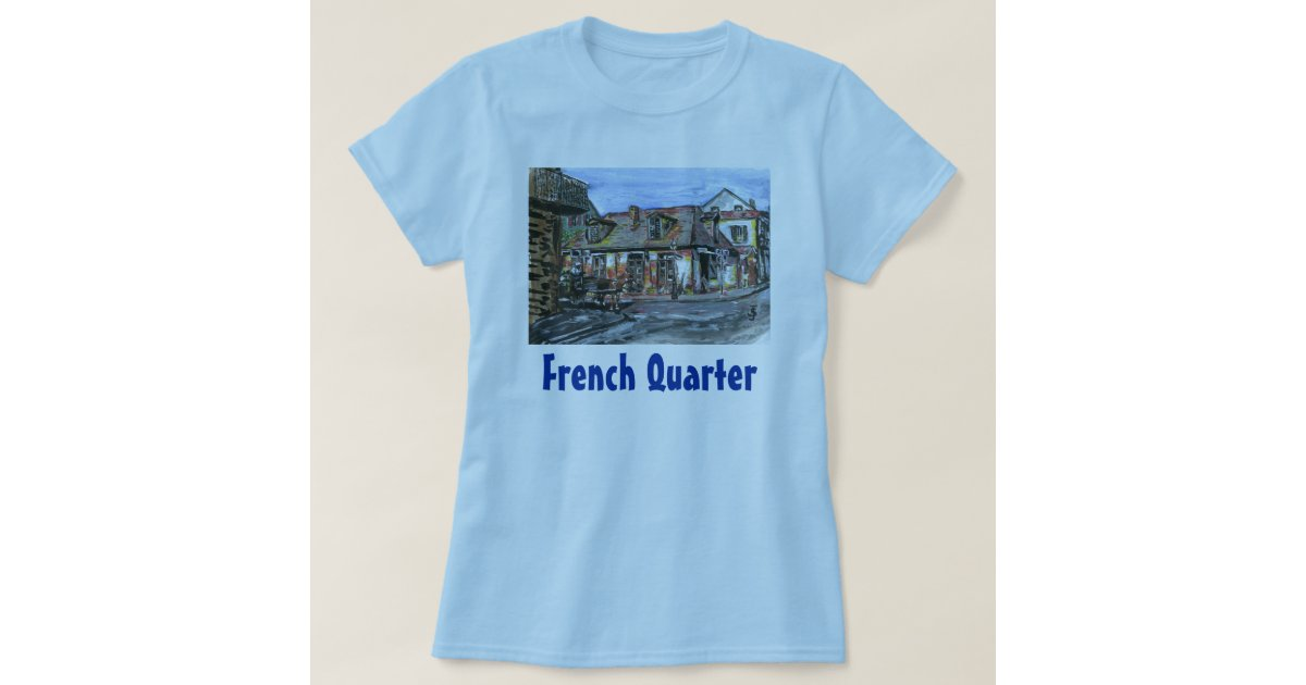 Black smith shop new orleans french quarter t shirt zazzle for T shirt printing new orleans