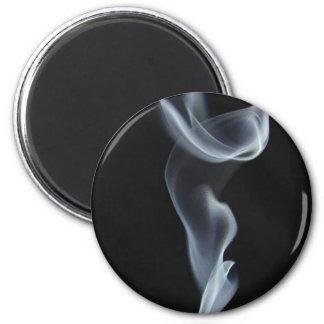 Black Smoke 2 Inch Round Magnet