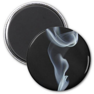 Black Smoke Fridge Magnets