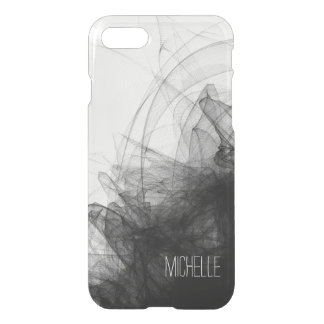 Black Smoke with Name iPhone 8/7 Case